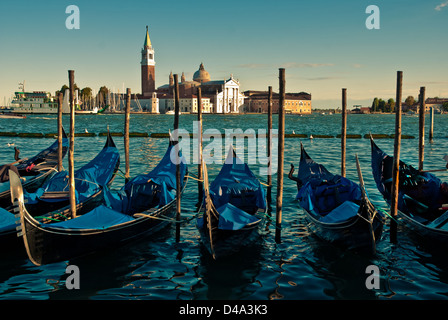 Ancient Boats On Canal Port In Cesenatico Stock Photo
