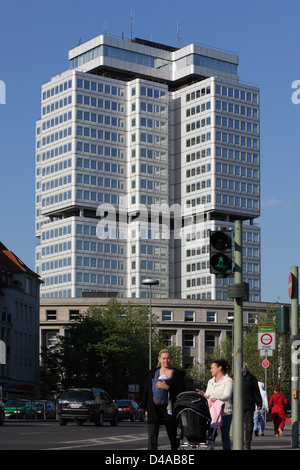 Berlin, Germany, Federal Insurance Institution for Employees on Hohenzollerndamm - Stock Photo