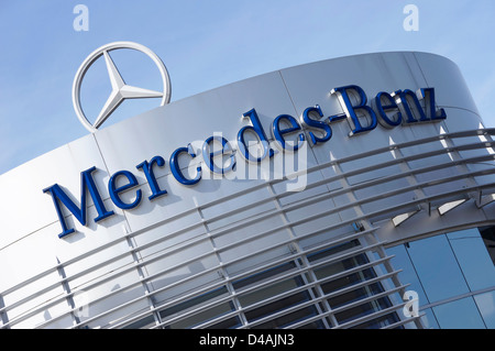 Mercedes-Benz - Stock Photo