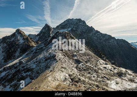 Mountain Landscape in Tyrol, near Oetztal, Austria - Stock Photo