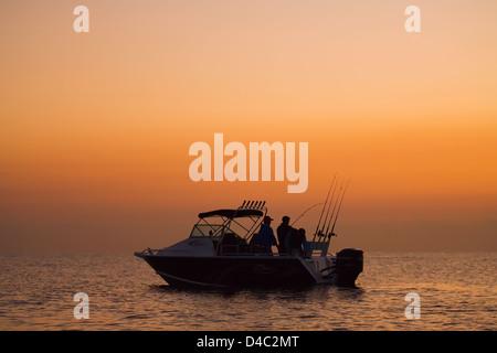 Recreational fishing - Stock Photo