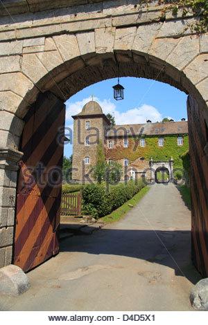Schnellenberg Castle, Attendorn, Germany - Stock Photo
