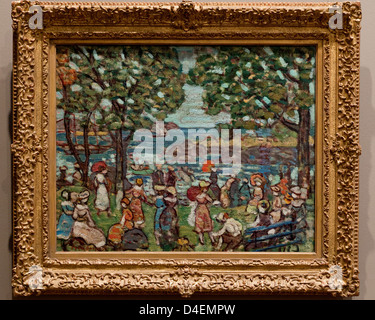 Salem Cove by Maurice Brazil Prendergast, 1916 - Stock Photo