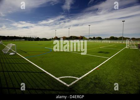 3G sports pitch - Stock Photo
