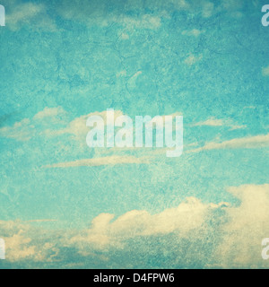 textured blue sky - Stock Photo