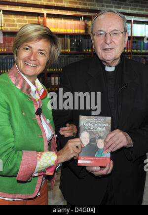 Gloria Princess of Thurn and Taxis and cardinal Joachim Meisner present their book 'Die Fuerstin und der Kardinal' - Stock Photo