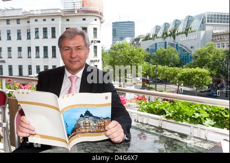 Berlin, Germany, the governing mayor Klaus Wowereit, SPD - Stock Photo