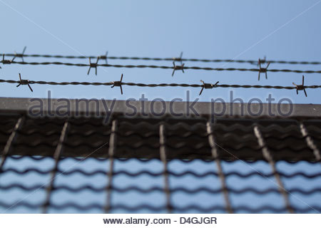 Famous German Barbed Wire Fence Image - Schematic Diagram Series ...