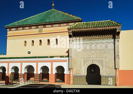 Zaouia Sidi Bel Abbes, Medina, Marrakesh, Morocco, North Africa - Stock Photo