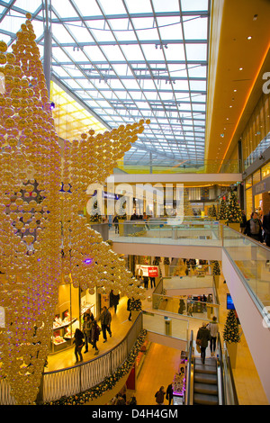 thier gallery shopping centre at christmas dortmund north stock photo royalty free image. Black Bedroom Furniture Sets. Home Design Ideas