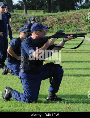 MSST-New Orleans Shooting Range - Stock Photo