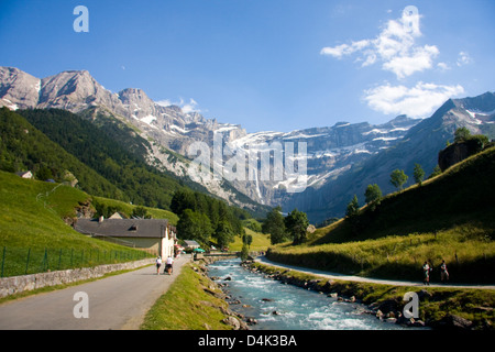 Cirque de Gavarnie, Pyrenees, France - Stock Photo