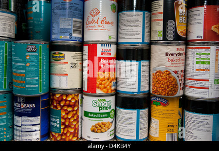 Food bank in Peckham, South London run by charity Trussell Trust - Stock Photo