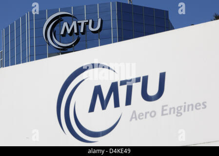 The picture shows the headquarters of MTU Aero Engines in Munich, Germany, 03 June 2009. Photo: Lukas Barth - Stock Photo