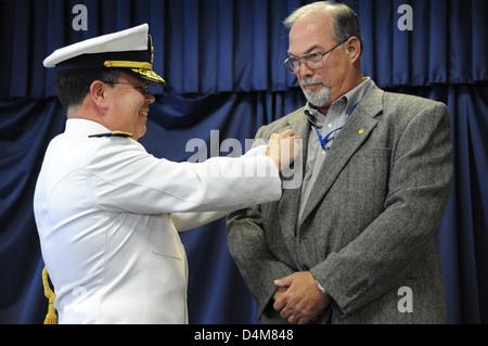 Deepwater Horizon Investigation Partners Ceremony - Stock Photo
