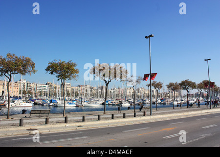 Barcelona city in Spain - Stock Photo