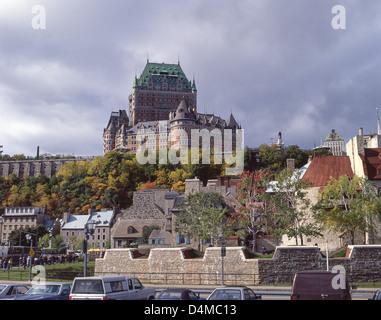 Château Frontenac, Québec City, Capitale-Nationale Region, Quebec Province, Canada