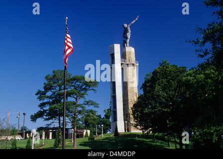 Vulcan statue, Vulcan Park, Birmingham, Alabama - Stock Photo