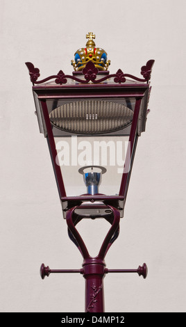 Ornate street lamp - Stock Photo