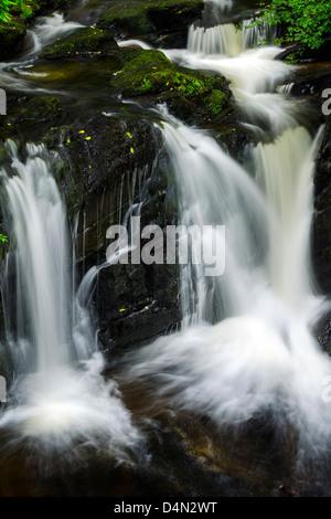 Waterfall in Killarney, Ireland - Stock Photo