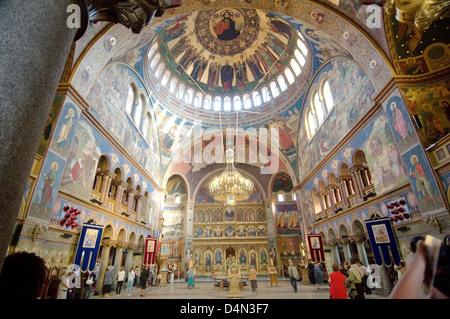 Lutheran Cathedral of Saint Mary, Sibiu, Transylvania, Romania, Europe - Stock Photo