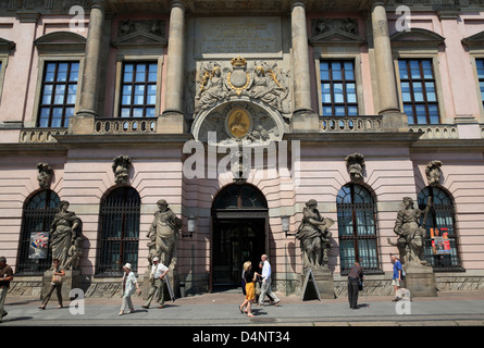 deutsches historisches museum in zeughaus unter den linden at spree stock photo royalty free. Black Bedroom Furniture Sets. Home Design Ideas