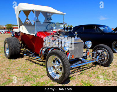 Classic Hot Rod At The Run To The Sun Car Show In Myrtle Beach SC - Myrtle beach car show