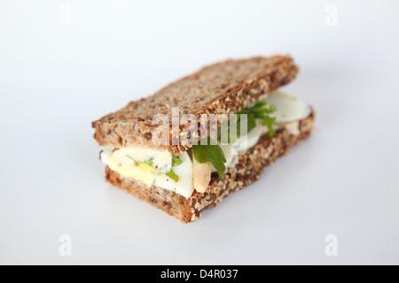 Egg Sandwich - Stock Photo
