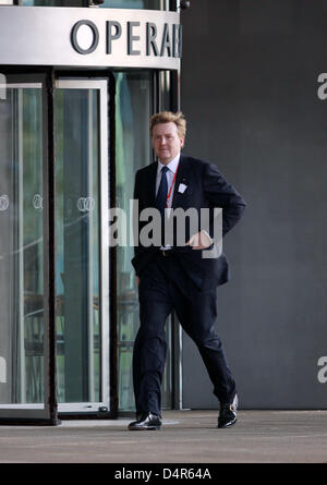 Crown Prince Willem-Alexander of the Netherlands arrives for the opening ceremony of the 121st IOC session at the - Stock Photo