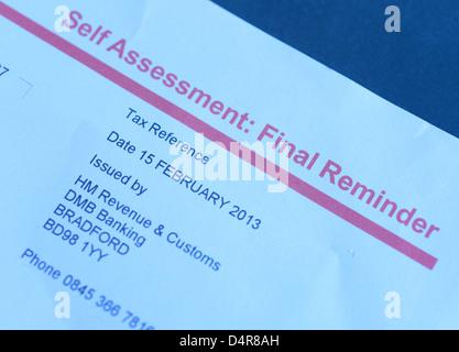 hmrc self assessment paper deadline