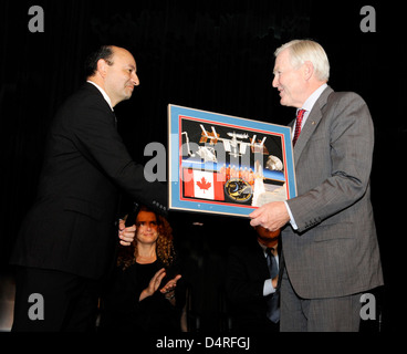 STS-127 Crew Visit to Canadian Embassy (200909220001HQ) - Stock Photo