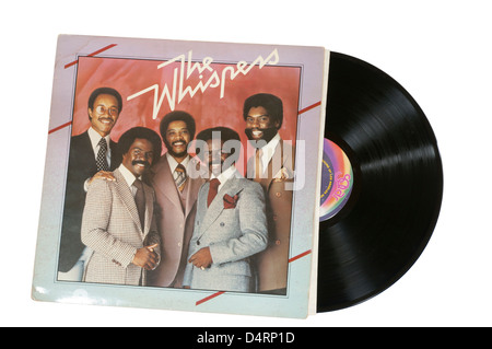 The Whispers Vinyl Record LP - Stock Photo