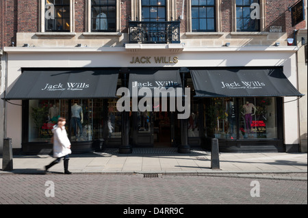 The new Jack Will's clothing shop St Andrew's Street Cambridge UK - Stock Photo