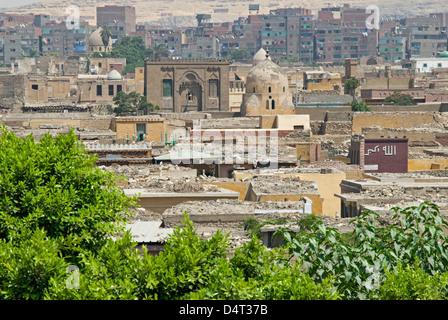 City of the Dead, Cairo, Egypt. - Stock Photo