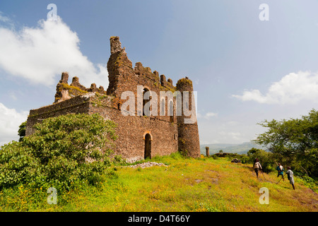 Guzara Castle between Gonder and Lake Tana, Ethiopia - Stock Photo