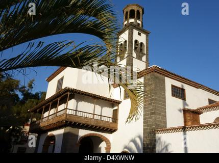 Nuestra Senora de la Concepcion church in Santa Cruz de Tenerife, Canary Islands - Stock Photo