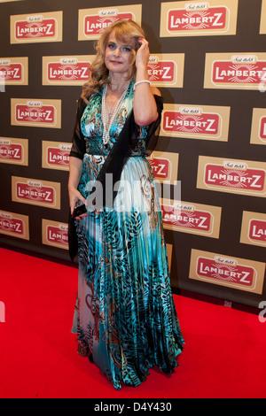 Nastassja Kinski attending Lambertz Monday Night Party at Alter Wartesaal. Cologne, Germany - 30.01.2012 - Stock Photo