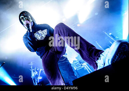 Toronto, Ontario, Canada. March 20, 2013. American rap rock band HOLLYWOOD UNDEAD performed a show at Phoenix Theatre - Stock Photo