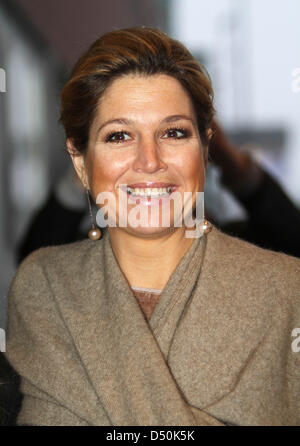 Dutch Crown Princess Maxima attends the Prince Bernhard Cultuuraward 2010 ceremony in the Muziekgebouw Aan't IJ - Stock Photo