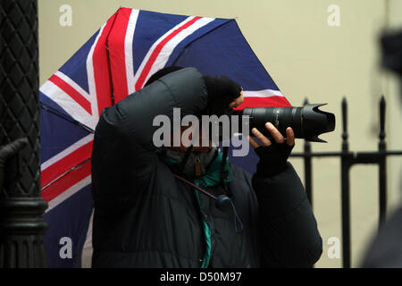 London, UK. 20th March 2013. Steve Back, Political Pictures photographer. Pic: Paul Marriott Photography/Alamy Live - Stock Photo