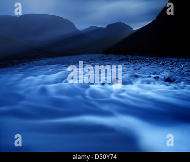 GB - SCOTLAND: Glen Etive in the Highlands - Stock Photo