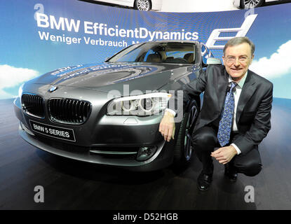 norbert reithofer ceo of bmw ag in passau bavaria stock. Black Bedroom Furniture Sets. Home Design Ideas