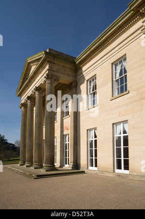 The Mansion House in Roundhay Park, Leeds - Stock Photo