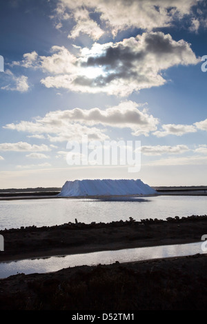 SALTPANS, BONANZA, SANLUCAR DE BARRAMEDA, CADIZ, SPAIN - Stock Photo