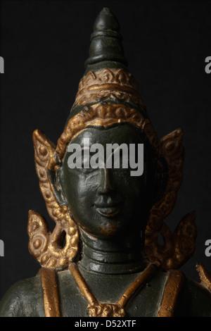 Buddha statue, Thailand - Stock Photo