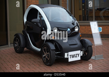 Renault Twizy electric car - Stock Photo