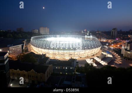 Kiev, Ukraine, Kiev Olympic Stadium - Stock Photo