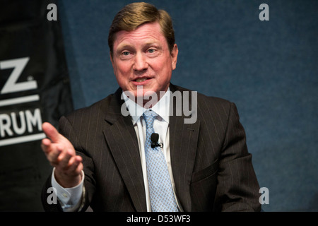 Thomas Fanning, chairman, president and CEO of Southern Company. - Stock Photo