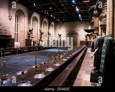 Diagon Alley Harry Potter Warner Brothers tour - Stock Photo