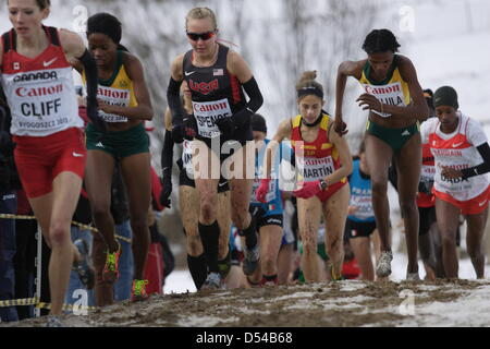Bydgoszcz, Poland 24th, March 2013 IAAF World Cross Country Chamiponships. Senior Race Woman.  Pictured: Neely Spence - Stock Photo